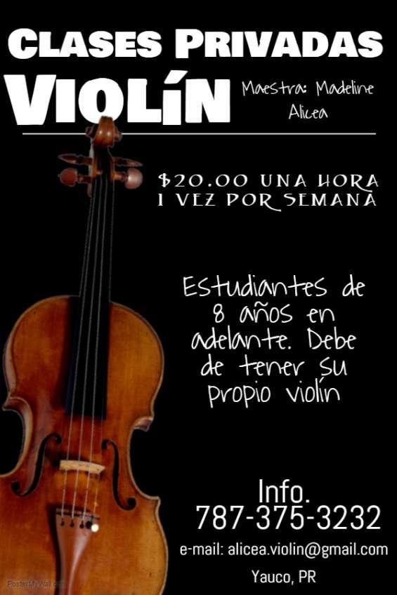 Clases privadas de violín, pueblo de yauco